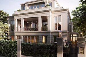 Luxury Apartment Block in Toorak