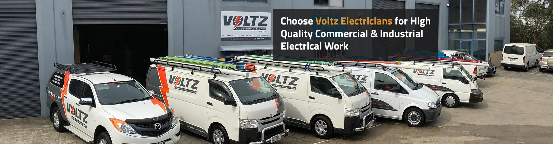 Choose Voltz Electricians for High Quality Commercial & Industrial Electrical Work